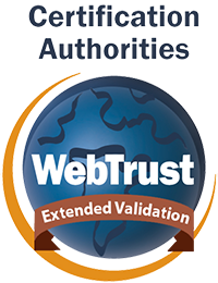 WebTrust for CA - Extended Validation