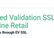 Extended Validation SSL for Online Retail