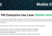 Sectigo PKI Enterprise Use Case: Mobile Devices