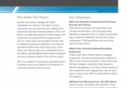 The Future of Identity and Access Management - A Forrester Report
